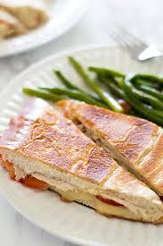 easy homemade panini without a panini press