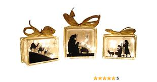 Amazon Com Say It On The Wall Vinyl Decal Glass Block Nativity Vinyl Only Home Kitchen