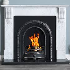 cararra marble fire surround