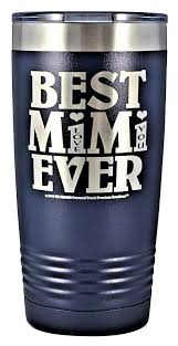 Gifts For Mimi Best Mimi Ever Love You Gk Grand Engraved Stainless Steel Vacuum Insulated Tumbler Travel Coffee Mug Hot Cold Wine Mothers Day Birthday Christmas Black 12oz Wine Travel Mugs