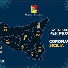CoronavirusSicilia (19 marzo 2020) – 21 i casi in provincia di ...