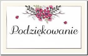 Podziękowania sołtysa Witkowic za udział w Zebraniu Wiejskim ...