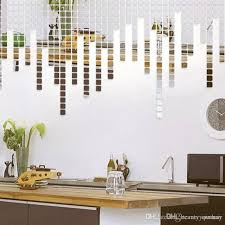 New Fashion 2x2cm Bling Bling Acrylic 3d Wall Sticker Mirror Effect Sofa Room Home Decor Diy Wall Art Applique Wall Art Decal From Beautyyourhair 0 06 Dhgate Com