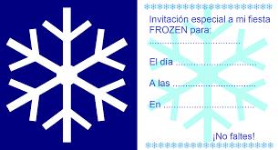 Invitaciones De Cumpleanos Infantiles De Frozen Disenos Con Plantillas Para Imprimir Gratis Innatia Com