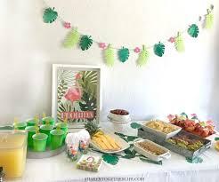 party decor recipes craft ideas