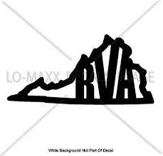 Rva Richmond Virginia State Logo Custom Design High Quality Die Cut Vinyl Decal Ebay