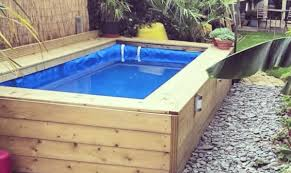 homemade hay bale swimming pool diy