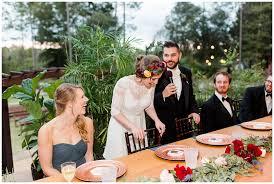 coldwater garden wedding burgundy and