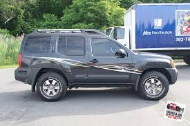Picture 2012 Nissan Xterra 4 Gotshadeonline Custom Vehicle Wraps Window Tinting Racing Stripes And Paint Protection In Delaware Maryland Pennsylvania New Jersey Gotshade