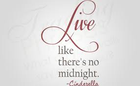 Live Like There S No Midnight Vertical Wall Decal Trading Phrases