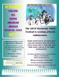 The 2019 Washeshu 'Itdeh Festival is seeking artwork submissions – Pow Wow  Calendar
