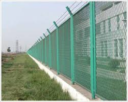 China Top Barbed Wire Scuritied Railway Fence Dj 276 China Railway Fence Road Fence
