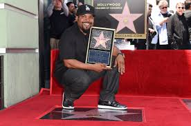 ice cube honored with hollywood walk of