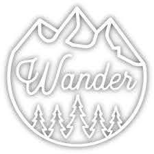 Stickers Northwest Wander Sticker Rei Co Op