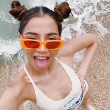 จีน่า เดอะเฟซ ใส่ชุดว่ายน้ำสุดแซ่บ โชว์เอวเอส ทริปเที่ยวเกาะสมุย