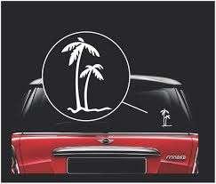Palm Trees Window Decal Sticker Custom Sticker Shop