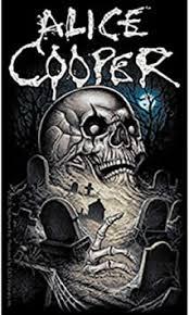 Amazon Com Alice Cooper Graveyard A Burial Ground Sticker Skull Orignal Artwork Vinyl Decal Sticker 3 25 X 5 5 Automotive