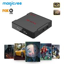 Magicsee N5 NOVA Smart Android 9.0 TV BOX RK3318 32G 64G 8k Set Top Box 2.4  5G Dual WiFi Bluetooth 5.0 IPTV Boxes media player|Set-top Boxes