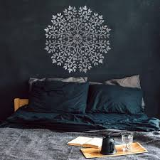 Tree Of Life Mandala Stencil Large Mandala Stencils For Walls