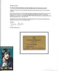 Elvis Presley Back-up Myrna Smith Hilton Honors GOLD VIP Plastic ID Card    #540636124