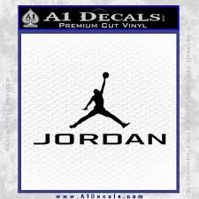 Michael Jordan Jumpman Full Decal Sticker 23 A1 Decals