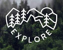 Explore Decal Etsy