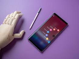 samsung galaxy note 9 with new s pen