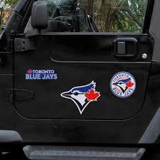 Toronto Blue Jays Wincraft 11 X 11 3 Pack Car Magnets