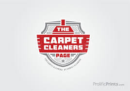 the carpet cleaners page logo design