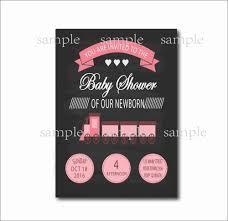 14 Unids Lote Tren Rosa Invitaciones Para Baby Shower De Ninas