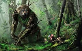 fantastic world fantasy wolf wolves