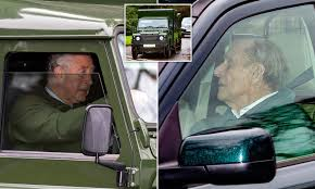 Prince Philip looks healthy as he ...