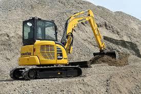 excavator komatsu pc55mr