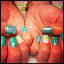 nails mani q green 101 is the prettiest