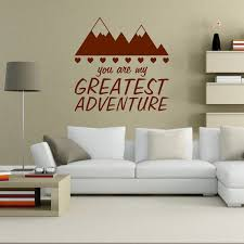 Wall Decal You Are My Greatest Adventure Home Wall Decal Family Decal Love Decal Adventure D Wall Decal Sticker Vinyl Wall Decals Wall Stickers Home Decor