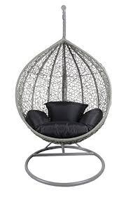rattan swing chair outdoor garden