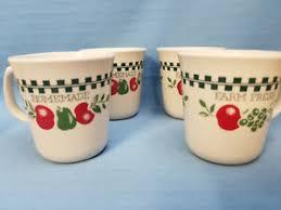 corelle farm fresh coffee tea cups mugs