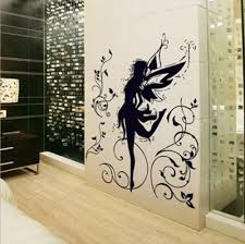 New Design Hot Selling Black Dancing Girl Fairy Spirit Wall Decal Wall Stickers For Kids Rooms Vinyl Art Decals Mural La087 Sticker For Kids Room Wall Stickers For Kidsdesigner Wall Stickers Aliexpress