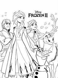 Kids N Fun 12 Kleurplaten Van Frozen 2