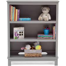Delta Children Epic 3 Tier Kids Bookshelf Gray Walmart Com Walmart Com