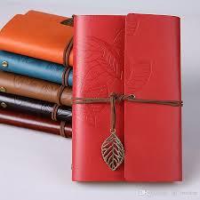 retro design leather cover notebooks