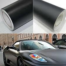 Flat Matte Vinyl Film Car Wrap Pvc Car Body Color Change Decal Sticker Black Diy Decals Stickers Decals Emblems Licence Frames Greatrace Com