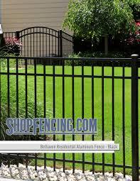 Belhaven Residential Aluminum Fence Section