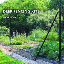Deer Fence Installation Deer Fence Diy Garden Fence Aqua Farm