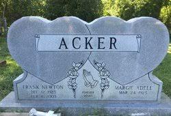 Frank Newton Acker, Sr (1925-2003) - Find A Grave Memorial