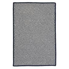 winston porter baeza navy area rug rug