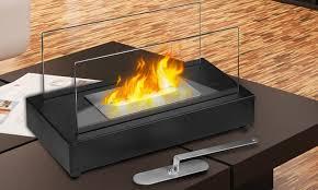 go green bio ethanol fireplace groupon