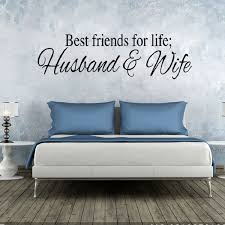 28 Off Dsu Wall Sticker Best Friends For Life Husband And Wife Rosegal