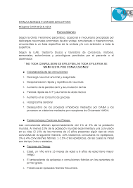 CONVULSIONES Y ESTADO EPILEPTICO - Docsity