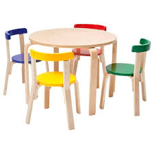 Ecr4kids Bentwood Curved Back Chair And Table Furniture Set Premium Kids Set For Homes Daycares And Classrooms Assorted Color Target